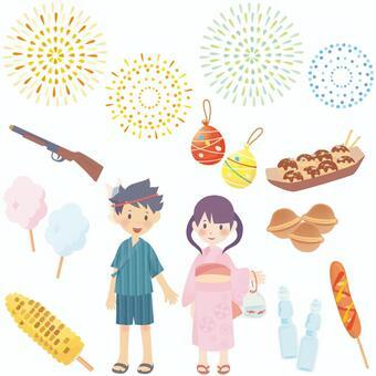 夏祭りセット02