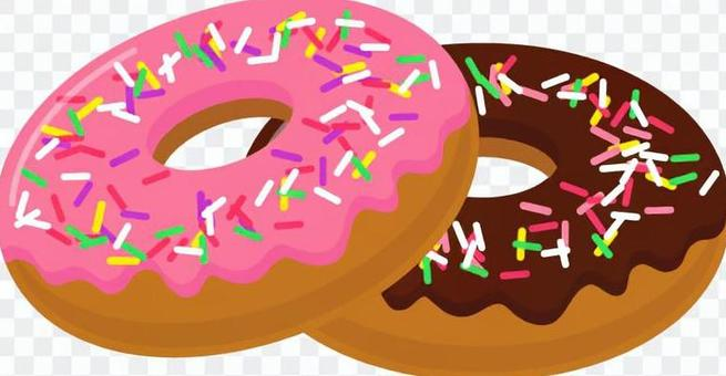 Donut _ 2 pieces