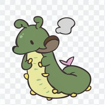 奇怪的毛毛蟲