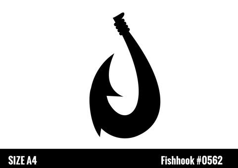 Hawaiian hook silhouette