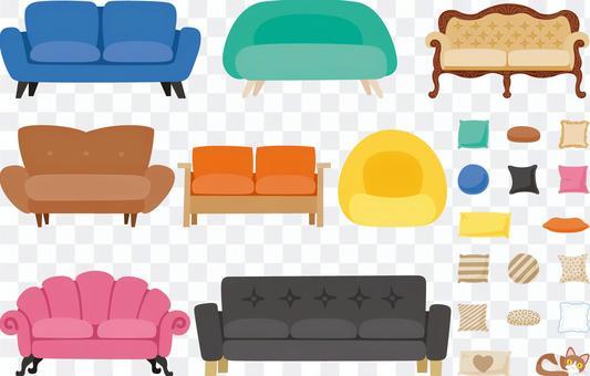 室內套各種沙發