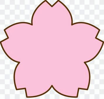 櫻花標記類型圖標