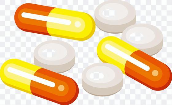藥物膠囊藥片