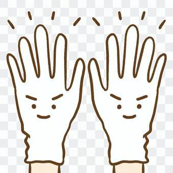 乙烯基手套透明