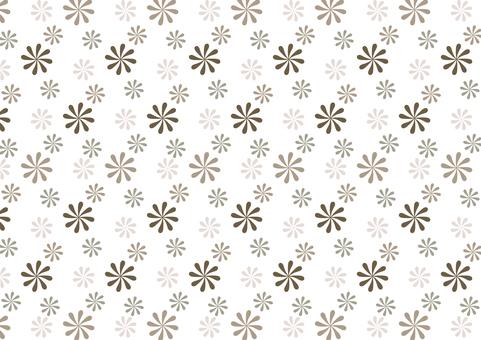 復古現代花紋圖案壁紙