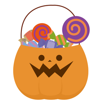 Halloween trick or treat sweets