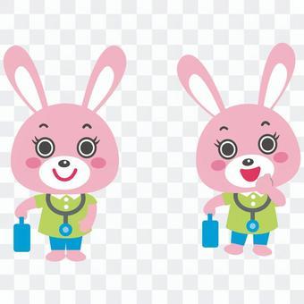 兔子來訪護士