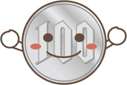 100日元硬幣人物2
