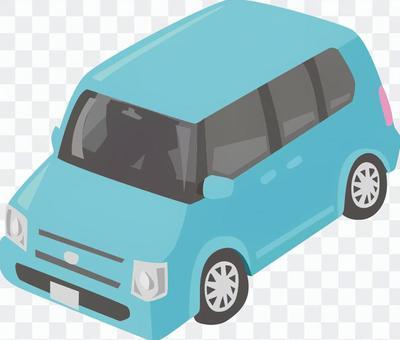 軽自動車 青
