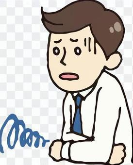 男士(西裝/腹痛)