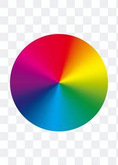 色相サークル カラフルサークル 色相環