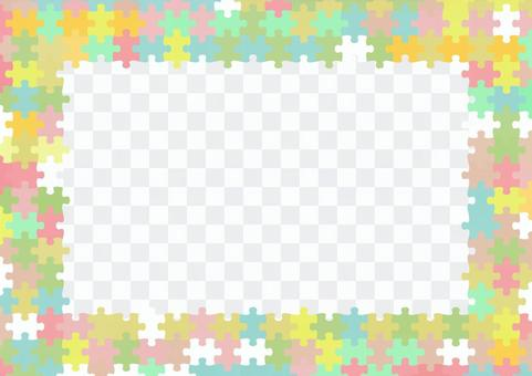 パズルピースの背景01