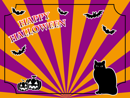 Halloween wallpaper material