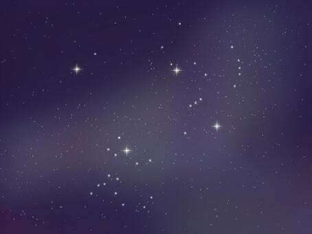 星空 - 冬季星座