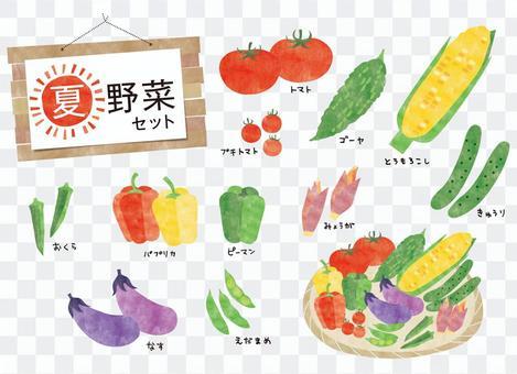 夏季蔬菜集