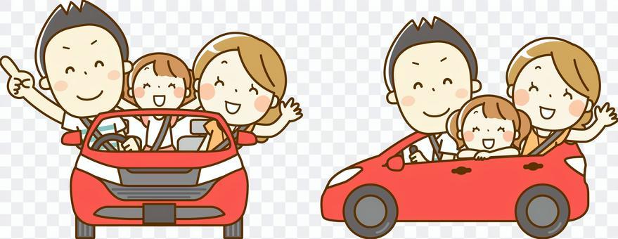 与家人01一起驾驶