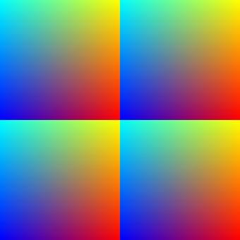 Colorful 4 divisions