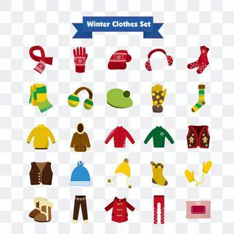 冬天的衣服