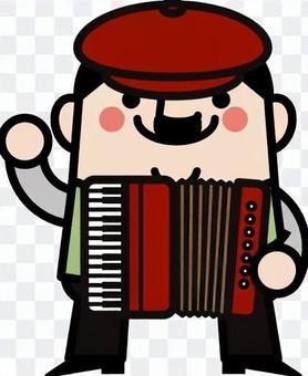 童話叔叔手風琴翻轉