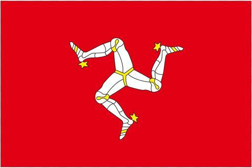 馬恩島的旗幟