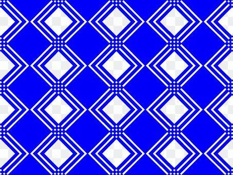 幾何形狀背景藍領