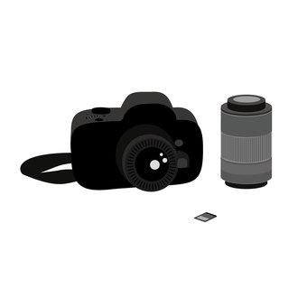 單反和長焦鏡頭