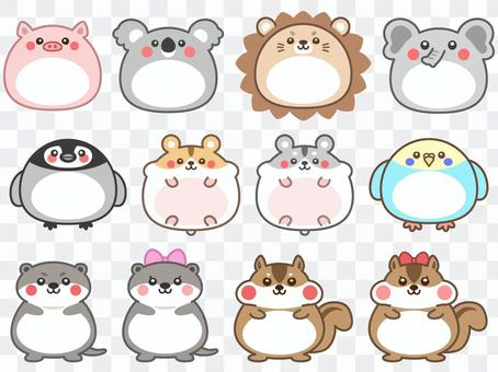 Cute animal frameset 2
