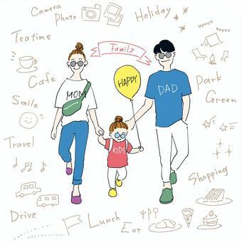 家庭假期A