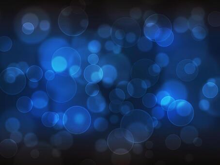 圓形燈/深藍色