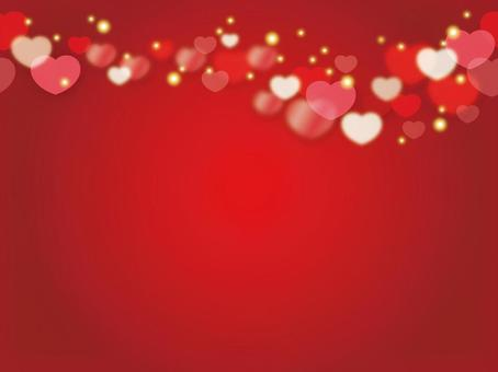 Seamless valentine day background illustration