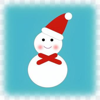 雪人聖誕老人
