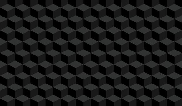 由立方體組成的幾何背景
