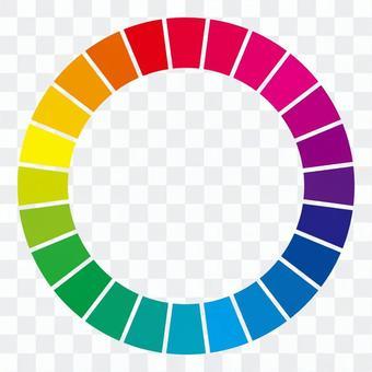 24個色環(劃分)