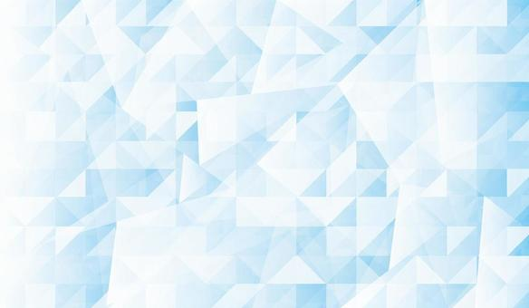 藍色分形設計