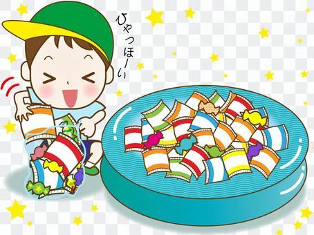 お菓子詰め放題⑦(ひゃっほーい!)