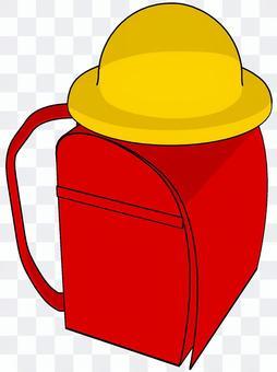 書包和帽子