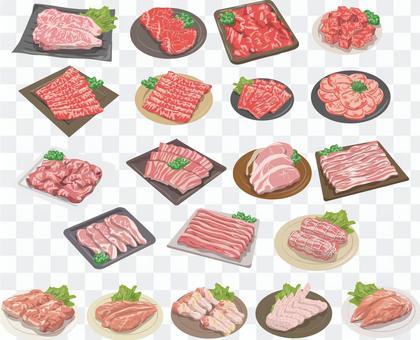 沒有肉類裝配線