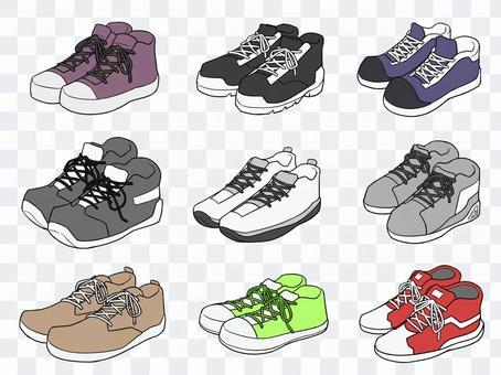 各種運動鞋1