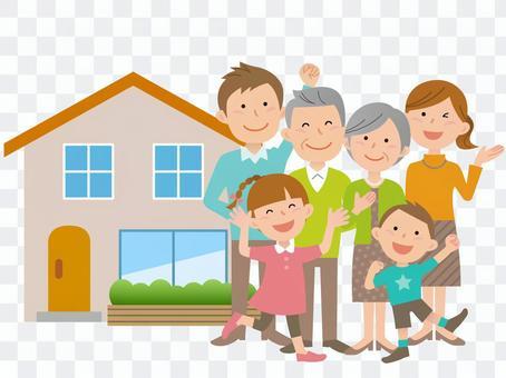 51116全身,房屋及六口之家