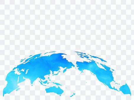 地球[9]水彩