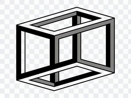 Design ESCHERS CUBE Black