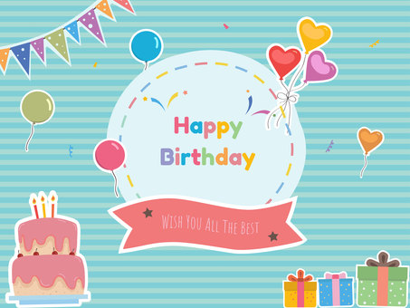 Birthday card / happy birthday