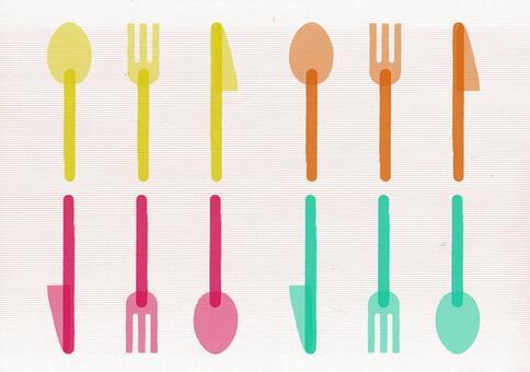 Cutlery 3 kinds set