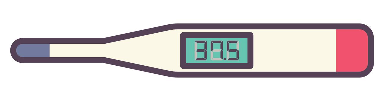 電子體溫計
