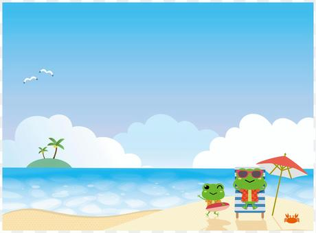 Tropical vacation sea
