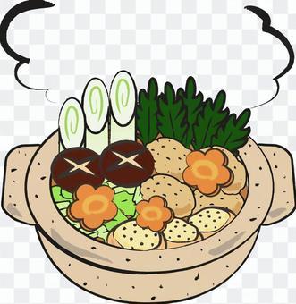 Handwritten dish pot dishes
