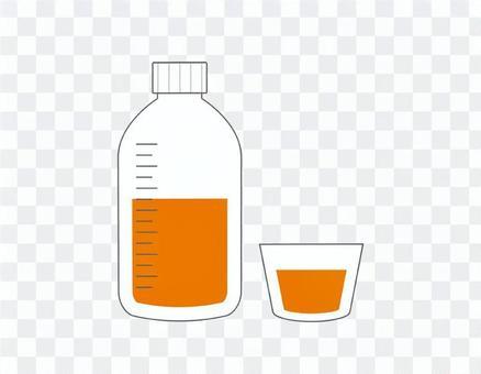 シロップ:薬