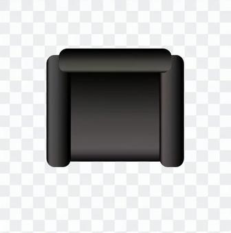 Sofa (Black) 02