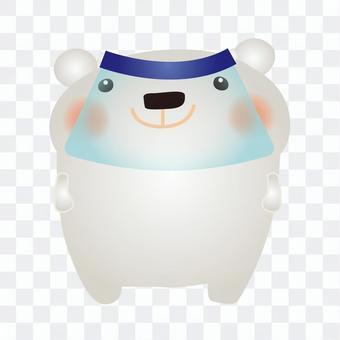 北極熊面罩