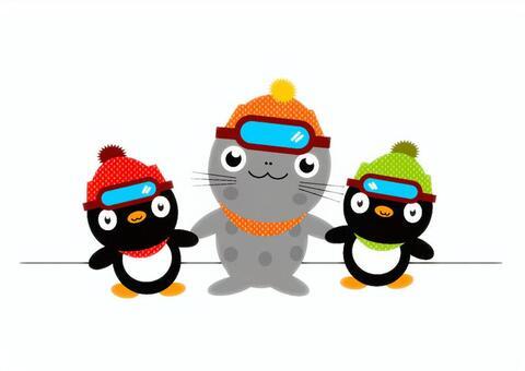 Antarctic colleagues ①